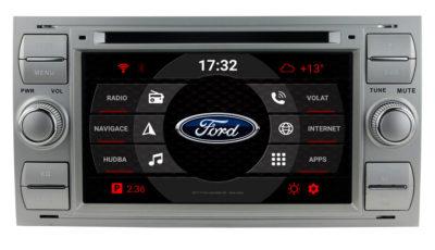 carmes-crm-7301-2din-android-autoradio-ford-focus-mondeo-stribrna-hlavni