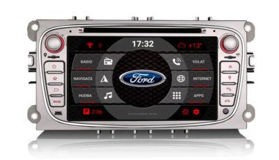 carmes-crm-7608-2din-android-autoradio-ford-focus-mondeo-stribrna-hlavni